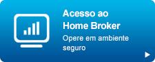 Botão de acesso ao home broker da Citi Corretora
